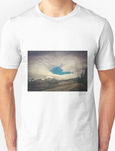 Mt Rainier from the Road Unisex T-Shirt