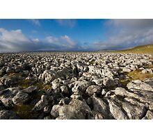 Limestone Sea Photographic Print