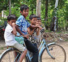 One Bike Four Boys by nicholasderoose