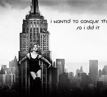 Madonna New York by sebathedog