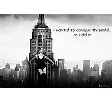 Madonna New York Photographic Print