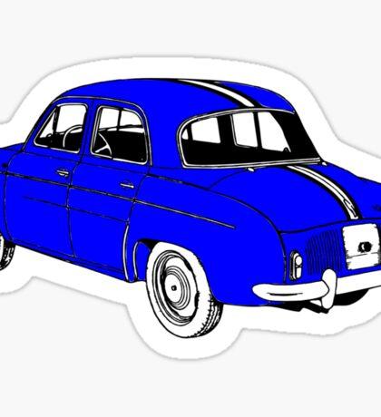 DAUPHINE GORDINI BLUE Sticker