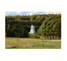 Fort Amherst Lighthouse in the Trees Art Print