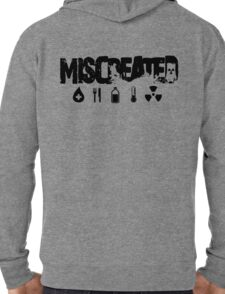 Miscreated Zipped Hoodie Black Text (Official) Lightweight Hoodie
