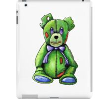Green Zombie Bear iPad Case/Skin