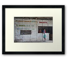 community place... Framed Print