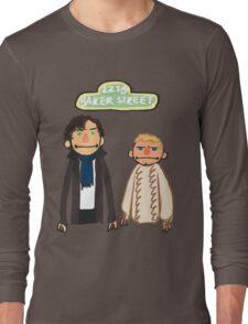 Sherlockesame Street Long Sleeve T-Shirt
