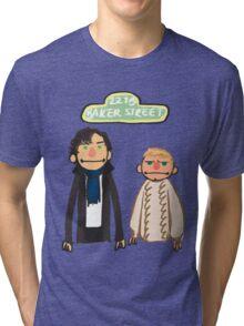 Sherlockesame Street Tri-blend T-Shirt