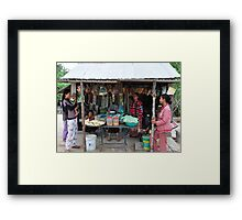 Happy Time Framed Print