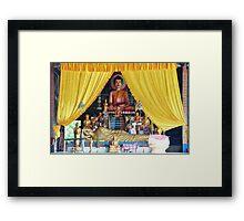 Village Gods Framed Print