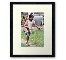 Child Rearing  Framed Print