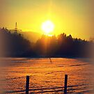 Winter Sunset by ©The Creative  Minds