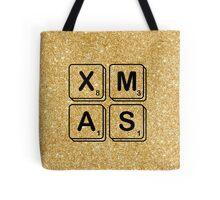 Scrabble Xmas Tote Bag