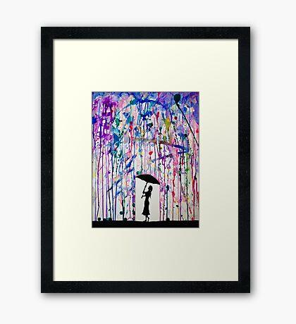 Deluge Framed Print