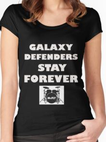 McFly Galaxy Defenders Stay Forever Women's Fitted Scoop T-Shirt