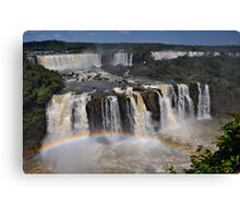 Tiered Falls Canvas Print