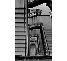 Stadium Staircase Photographic Print