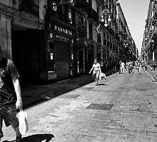 Shoppers, Lookers, and Walkers by montserrat