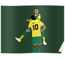 Nathan Redmond and Cameron Jerome Poster
