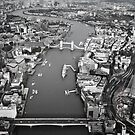 Aerial London by Phil  Hatcher