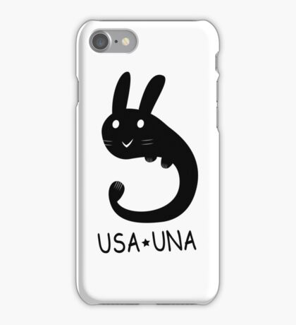 Usa Una iPhone Case/Skin