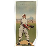 Benjamin K Edwards Collection Larry Doyle J T Meyers New York Giants baseball card portrait Poster