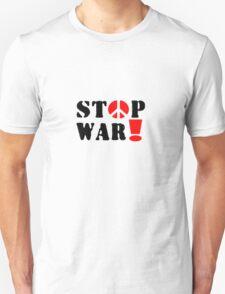 Stop War typography T-Shirt