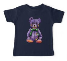 Purple Zombie Bear Baby Tee