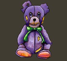 Purple Zombie Bear Unisex T-Shirt