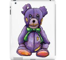 Purple Zombie Bear iPad Case/Skin