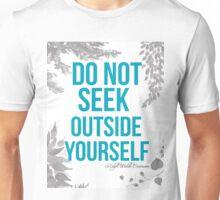 Ralph Waldo Emerson Quote Unisex T-Shirt
