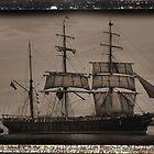 The James Craig - Tall Ship - Newcastle NSW Australia by Bev Woodman