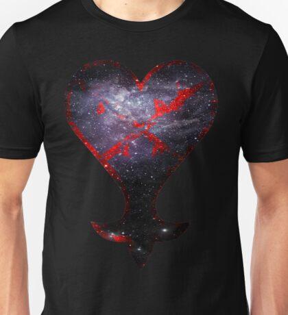 Kingdom Hearts Heartless grunge universe Unisex T-Shirt