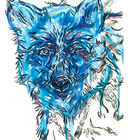 Blue Bear Sticker