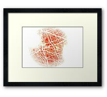 Complexities of the Heart // Dry Framed Print