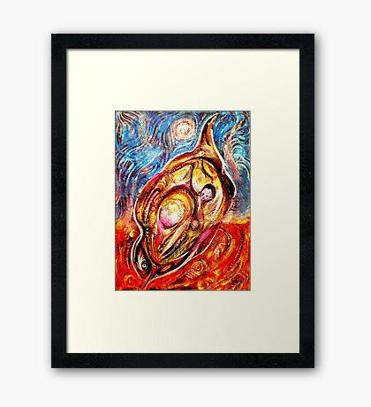 The Phoenix Bird Framed Print
