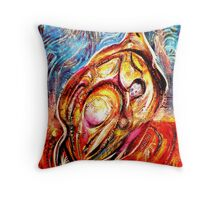 The Phoenix Bird Throw Pillow