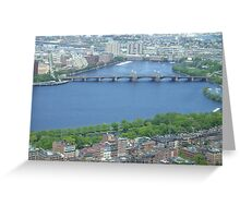Boston 3 Greeting Card