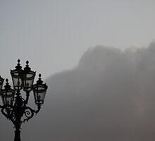 Lonely lamp by Ulla Vaereth