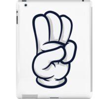 3 finger salute iPad Case/Skin