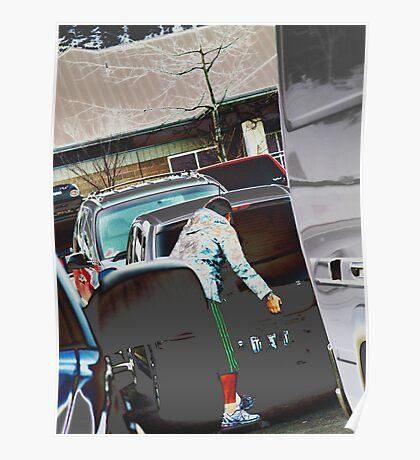 supermarket parkinglot 2 Poster