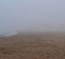 Man in Fog by apye