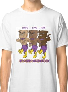 Omega Psi Phi - Love Live Die Dogs Classic T-Shirt