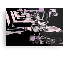 Come dine with me Metal Print