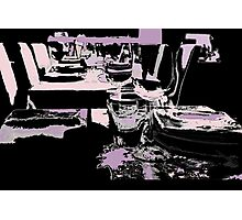 Come dine with me Photographic Print