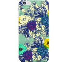 Botanical Blues ligth iPhone Case/Skin