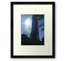 Boston Light Framed Print