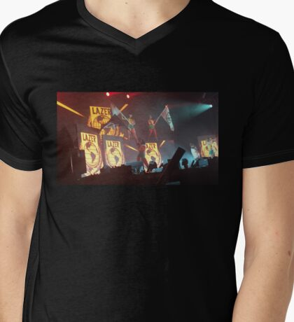 Major Lazer Girls at Mad Decent Block Party Brooklyn  Mens V-Neck T-Shirt