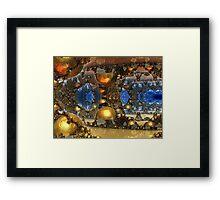 Caves Of Gold Framed Print