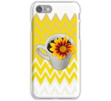 My morning cup of sunshine iPhone Case/Skin